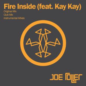 Joe Roller Fire Inside Album Art